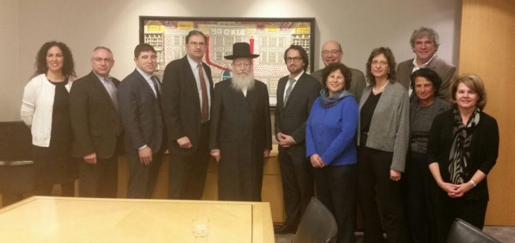 Israeli Health Minister Litzman Visited with the PICC