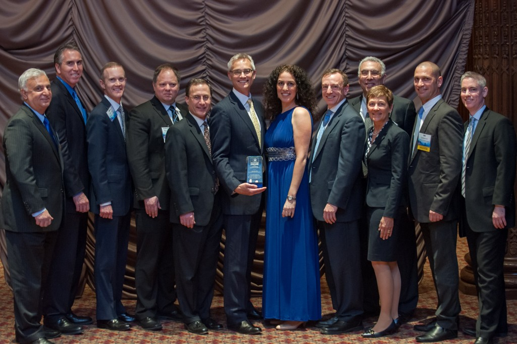 Philadelphia-Israel Chamber of Commerce honors American Airlines Group and US Airways as the recipient of the 2014 Yitzhak Rabin Public Service Award