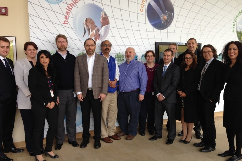 The delegation of the Israeli Ministry of Economy visited Air Liquide in Newark, Delaware