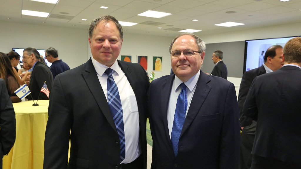 The PICC Bidding the Israeli Consulate in Philadelphia Farewell and Welcoming New Consul General of Israel in NYC Amb. Dani Dayan
