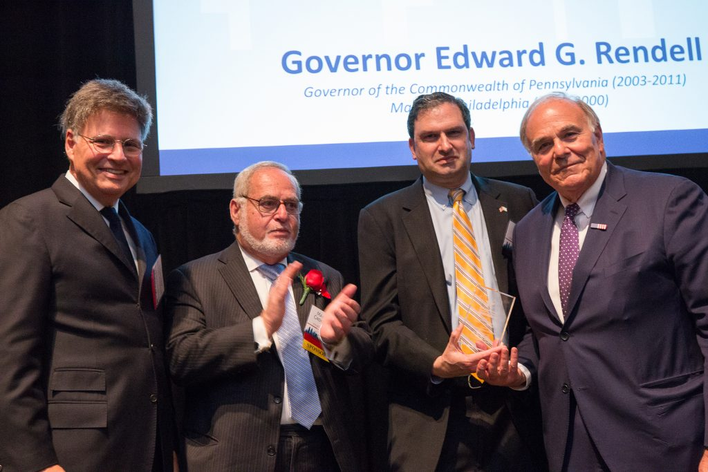 PICC Bestows its Highest Award on Former Mayor and Governor, Ed Rendell